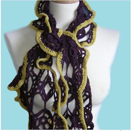 Summer Garden Crochet Shawl by Vikki0908