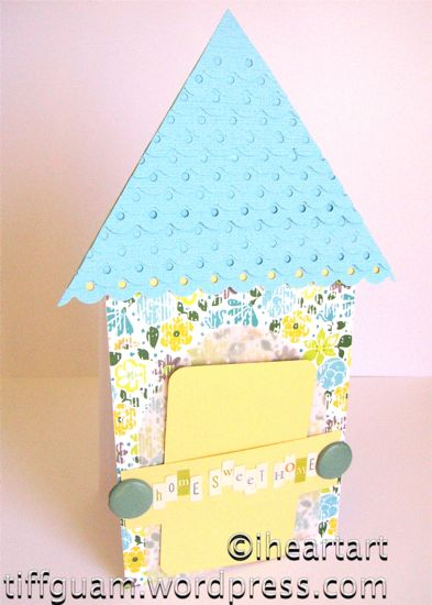 Housewarming Gift Card Holder
