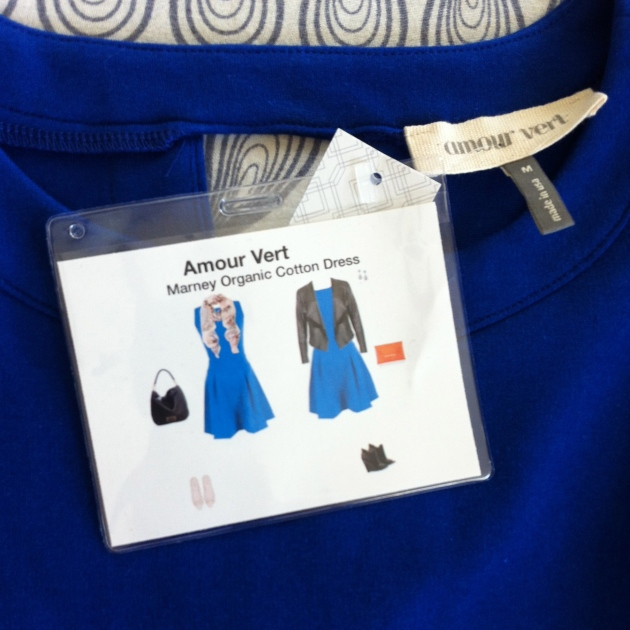 Amour Vert Marney Organic Cotton Dress